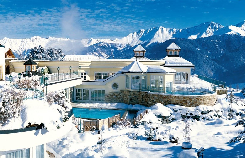 Benessere e neve il viaggiatore magazine - Hotel in montagna con piscina ...