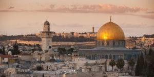 Il Viaggiatore Magazine - Tramonto a Gerusalemme, Israele