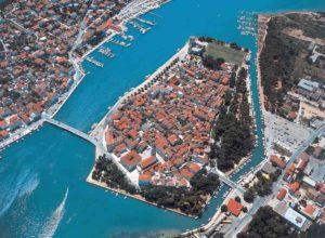 Il Viaggiatore Magazine - Visione aerea Trogir, Croazia