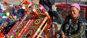 Il Viaggiatore Magazine - Donna al mercato - Khiva, Uzbekistan
