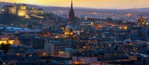 Il Viaggiatore Magazine - Veduta notturna di Edimburgo