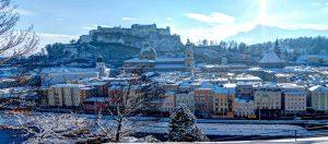 Il Viaggiatore Magazine - Panorama di Salisbrurgo, Austria