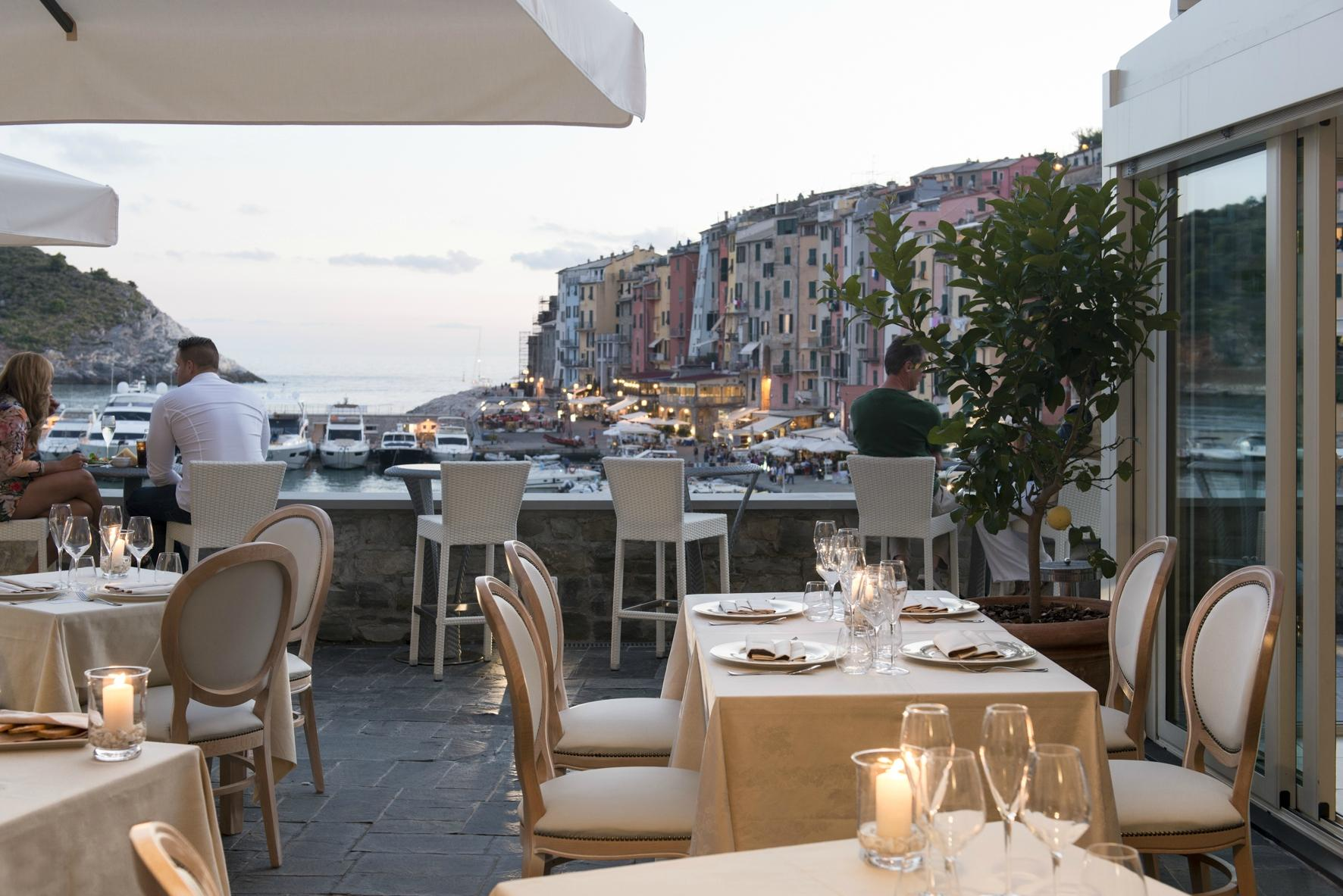 Palmaria restaurant apre la stagione gourmet del grand for Portovenere cuisine