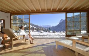 Il Viaggiatore Magazine - ADLER DOLOMITI-Area relax panoramica - Ortisei, Bolzano