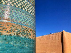 Il Viaggiatore Magazine - il minareto Kalta Minor - Khiva, Uzbekistan