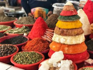 Il Viaggiatore Magazine - Le spezie nel Chorsu Bazar - Tashkent, Uzbekistan