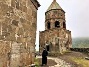 Il Viaggiatore Magazine - Monastero Gergeti - Georgia
