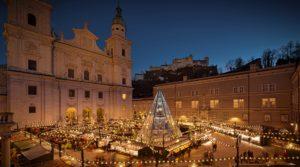 IlViaggiatoreMagazine-Mercatino di Natale-Piazza Duomo-Salisburgo-Austria