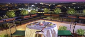 IlViaggiatoreMagazine-Roof Garden-Hotel Diana-Roma