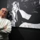 IlViaggiatoreMagazine-Bob Krieger all'inaugurazione della mostra-Palazzo Morando-Milano