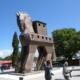 IlViaggiatoreMagazine-Il cavallo all'ingresso degli scavi-Troia-Truva-Turchia