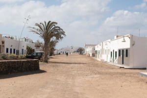 Isola La Graciosa-Calle de Caleta de Sebo-Canarie-Spagna