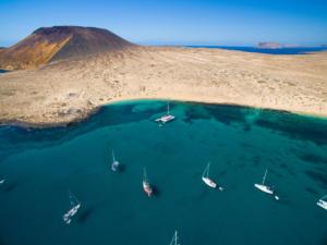 Isola La Graciosa-Playa La Francesca-Canarie-Spagna