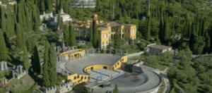 Panoramica-Il Vittoriale degli Italiani-Gardone Riviera-Brescia