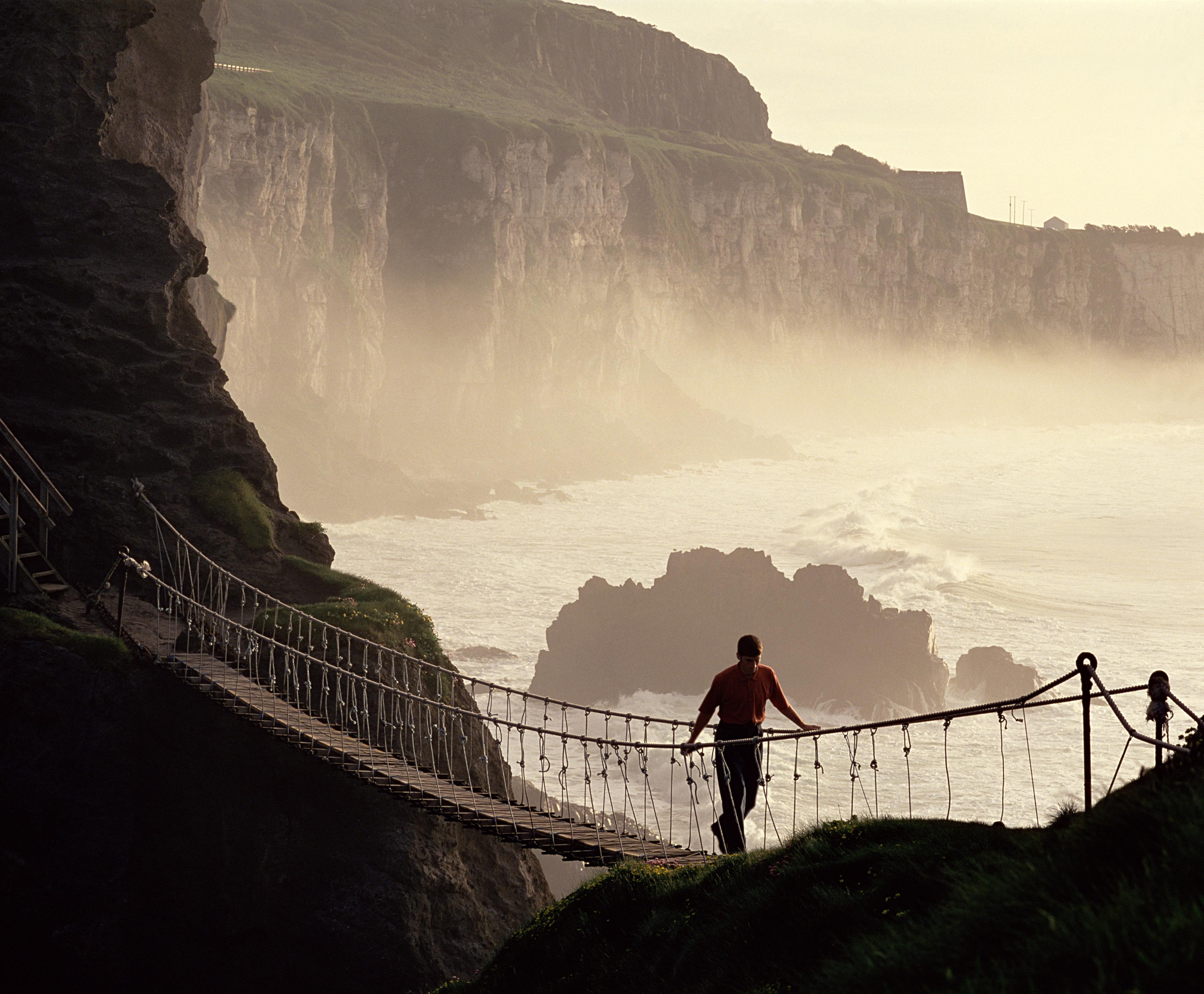 Carrick-a-Rede-Bridge-Contea di Antrim-Irlanda del Nord