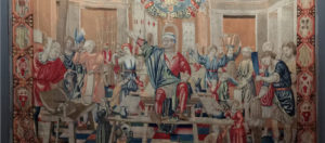 Arazzo raffigurante il mese di novembre della collezione Trivulzio-Palazzo Reale-Milano