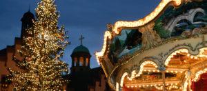 Giostra al Mercatini di Natale Francoforte-Francoforte