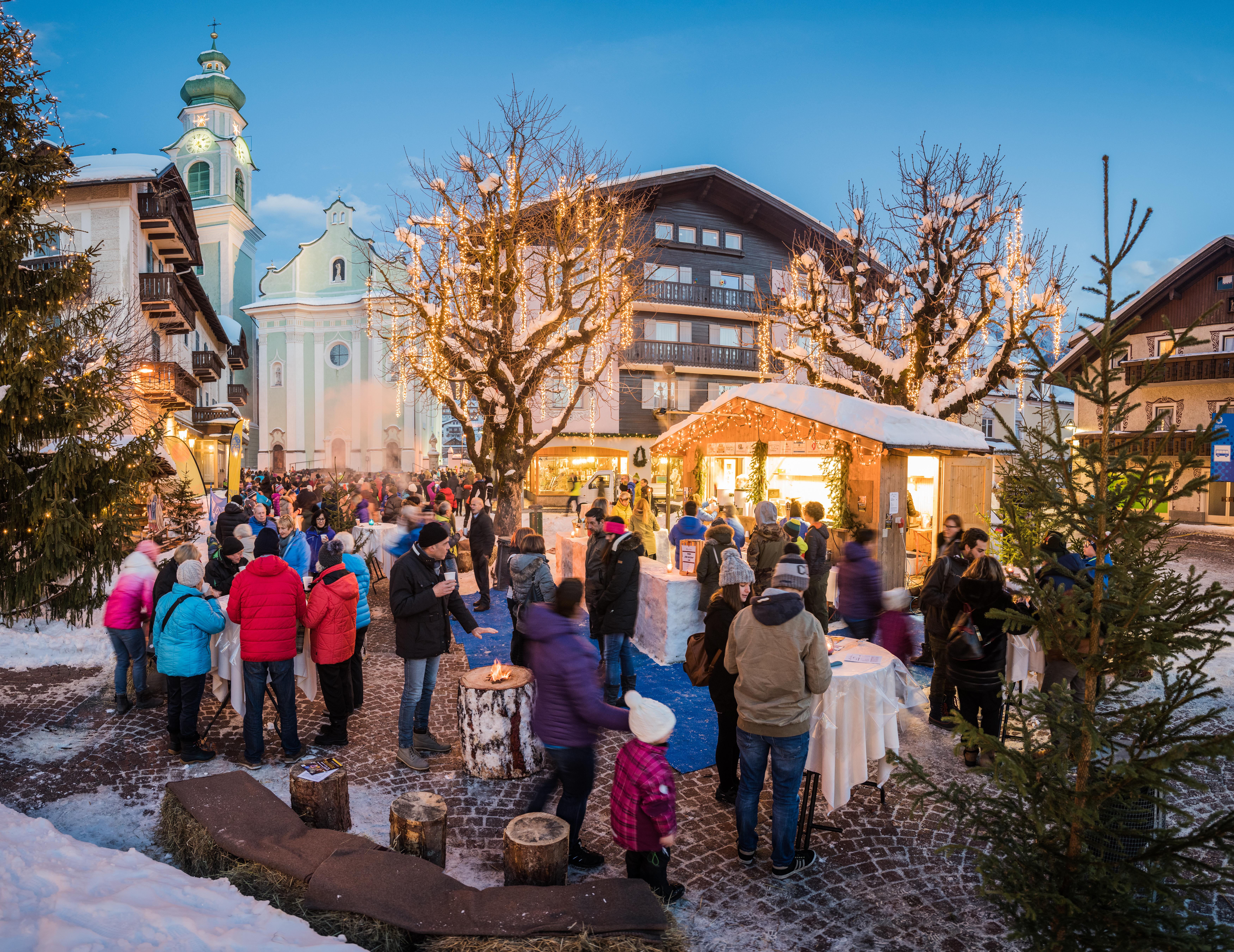 Mercatino di Natale-Dobbiaco-Bolzano-Foto di Harald Wisthaler