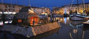 Presepe galleggiante-Grado-Gorizia
