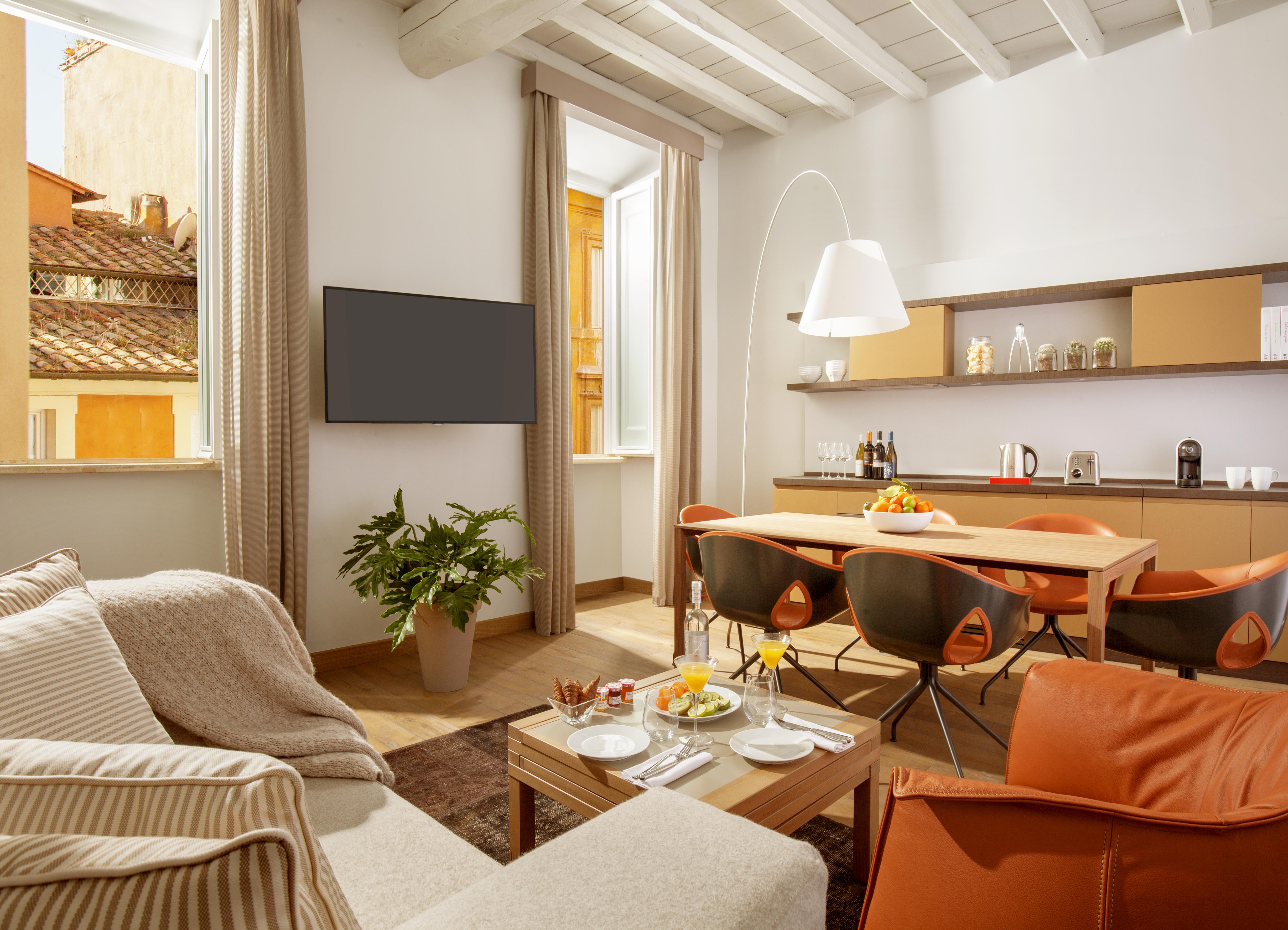 Suite con cucina-palazzo Scanderbeg-Roma