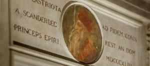 Ritratto del Principe Giorgio Castriota-Palazzo Scanderbeg-Roma