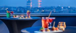 Aperitivo-Presidential Suite Terrace-Radisson Blu Hotel, Milan-Milano