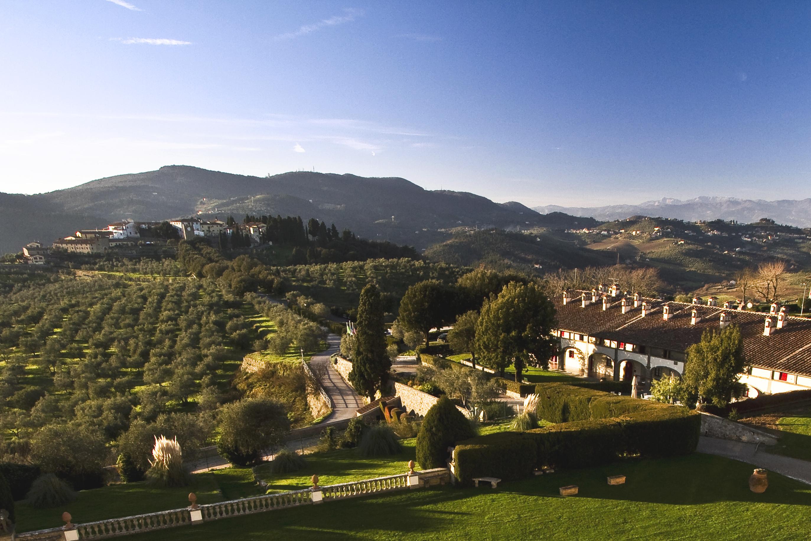 Esterno-Hotel Paggeria Medicea-Artimino-Prato