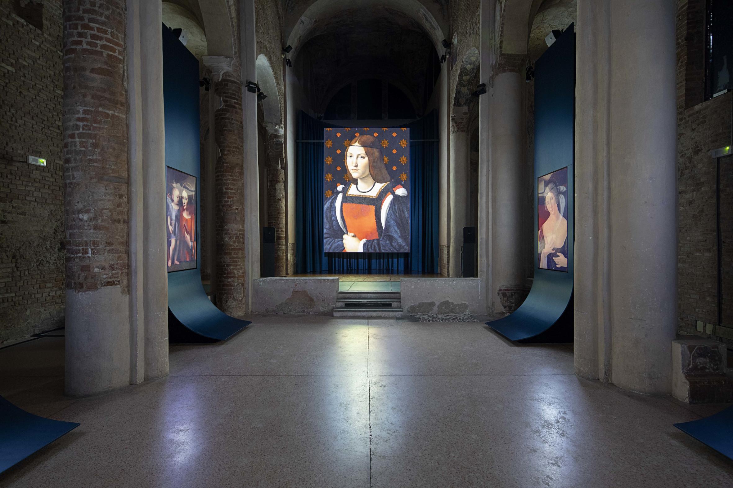 Monna Lisa Who-Karmachina-Chiesa di Santa Maria Gualtieri-Pavia