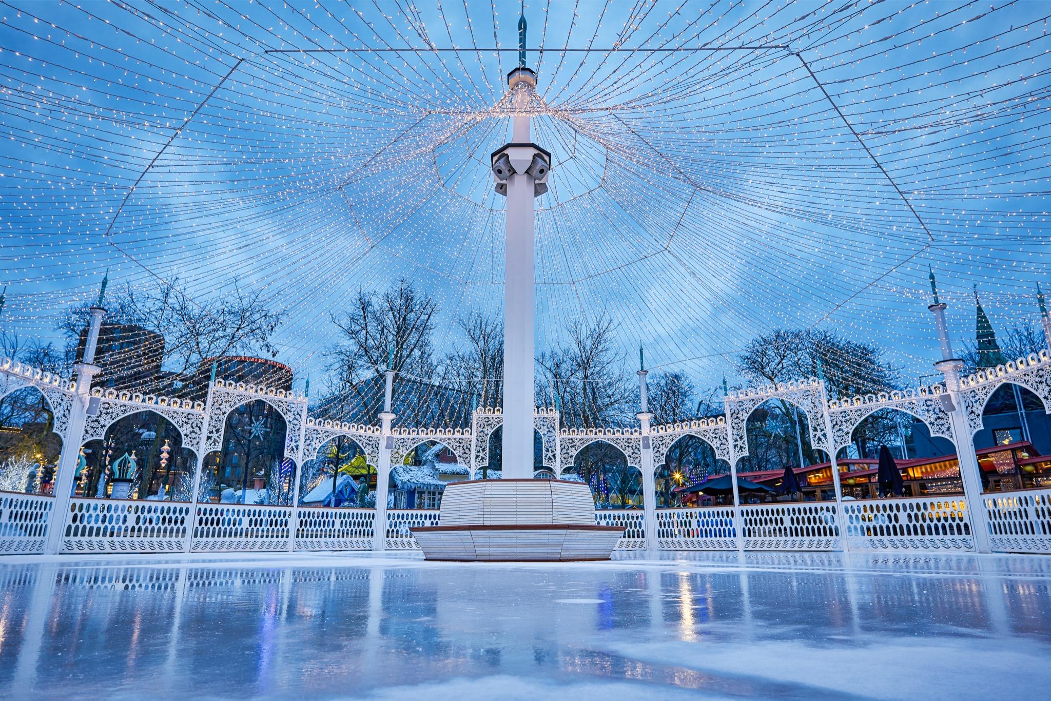 Copenaghen Light Festival-Giardini di Tivoli-Copenaghen-Danimarca