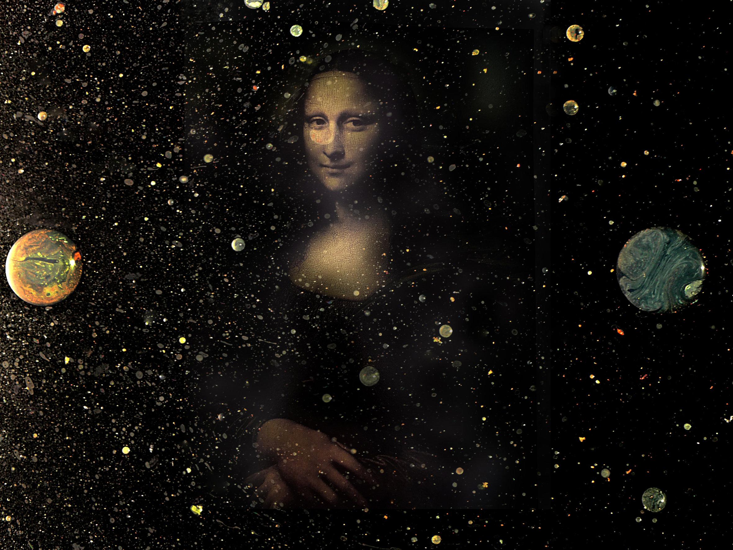 Gioconda nello spazio-Riccardo Cocchi-Collezione Carlo Palli-Prato