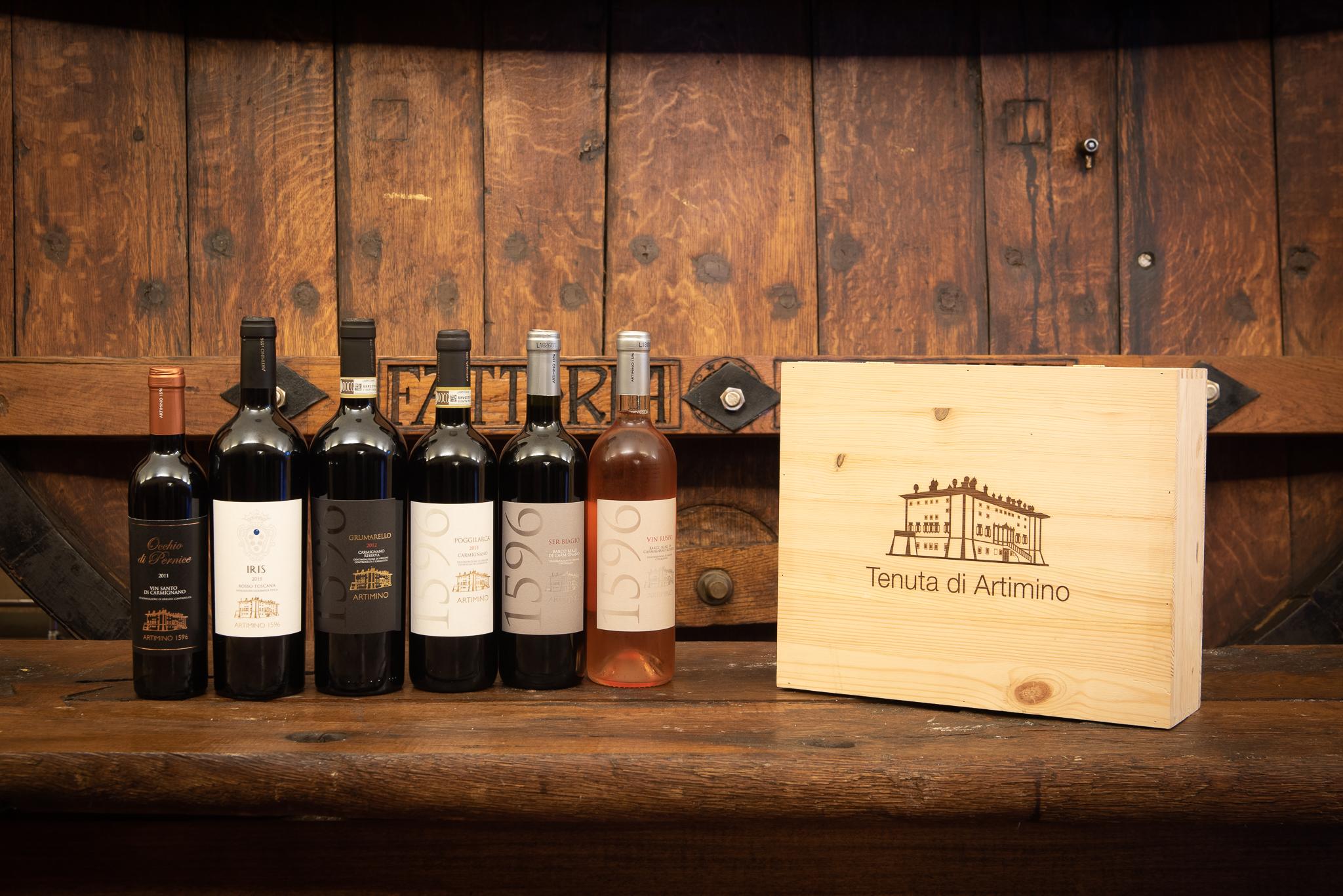 Bottiglie della cantina-Tenuta Artimino-Artimino-Prato
