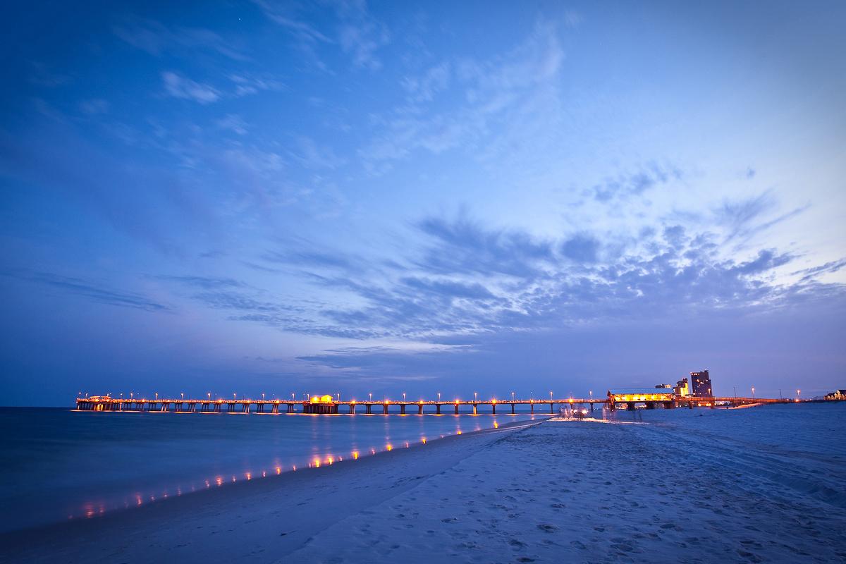 Gulf Coast Alabama-Pier-Mobile-Alabama-USA