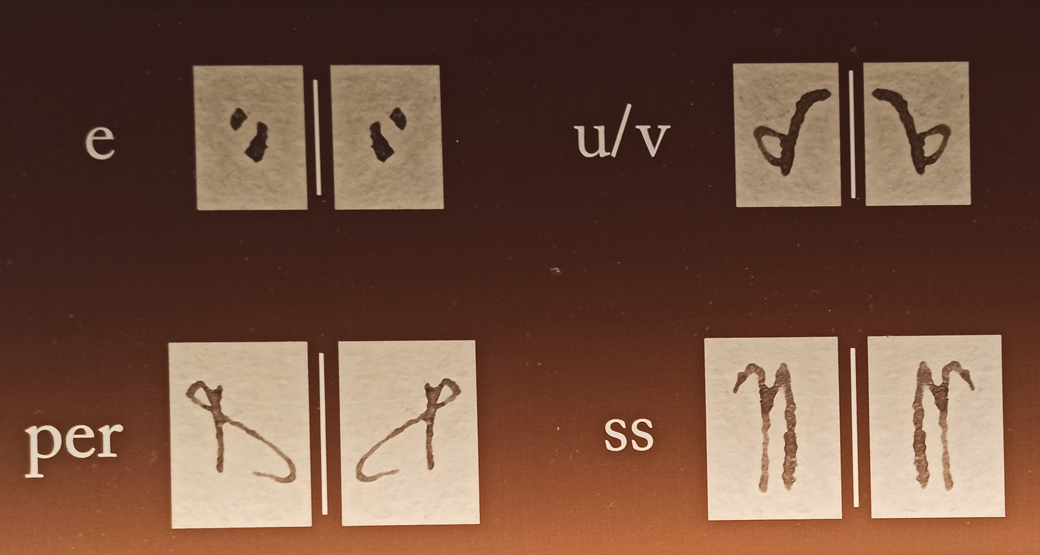 Codice di lettura della scrittura Mercantesca