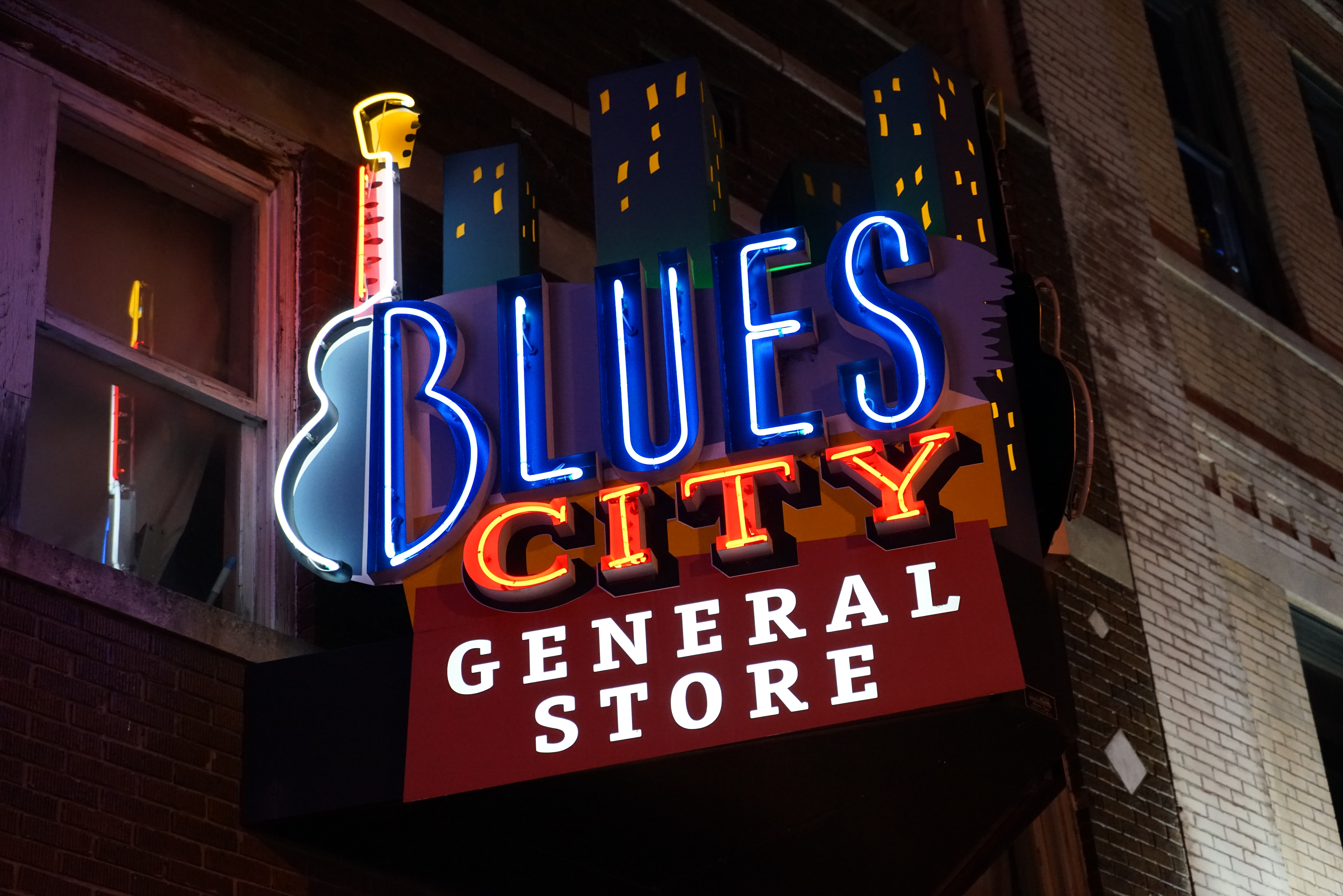 Beale Street-Menphis-Tennessee-USA