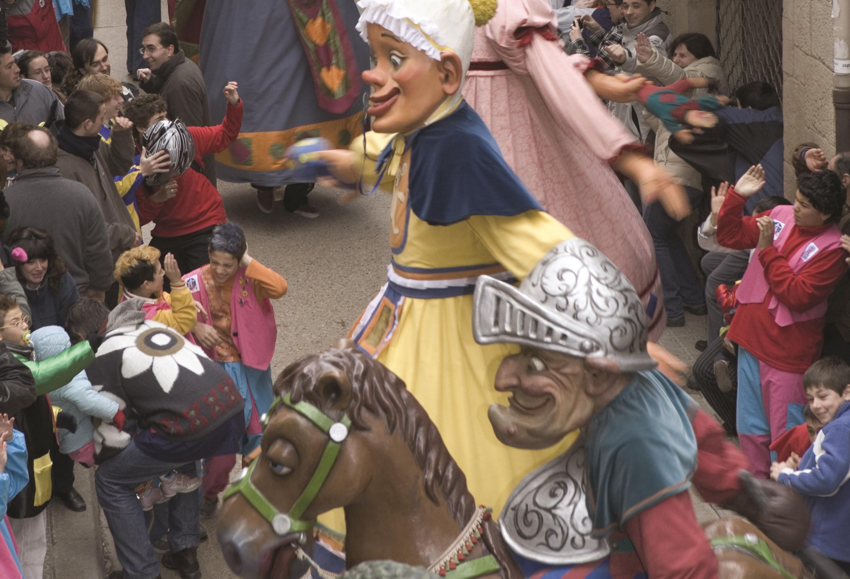 I Giganti al Carnevale di Sitges-Foto di Oriol Llauradò-Agencia Catalana de Turisme