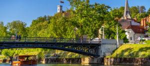 Ponte Ljuljanica-Lubiana-Slovenia
