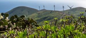 Gorona del Viento-La centrale eolica de El Hierro-Canarie-Spagna