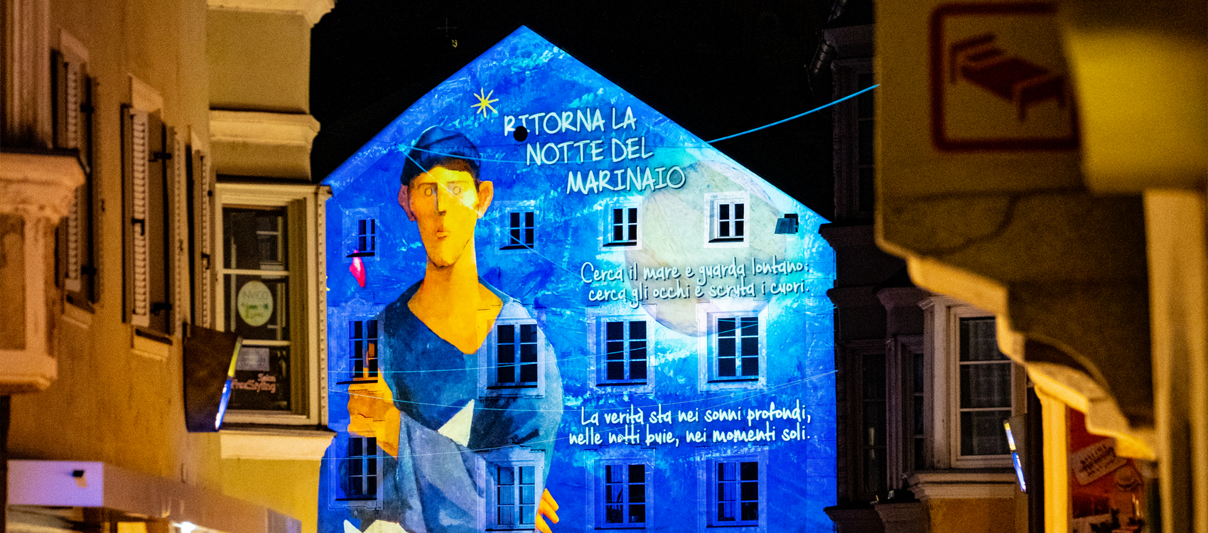 """""""Notte del Marinaio""""-Brixen Water Light Festival -Bressanone-Foto di Giampaolo Talani"""