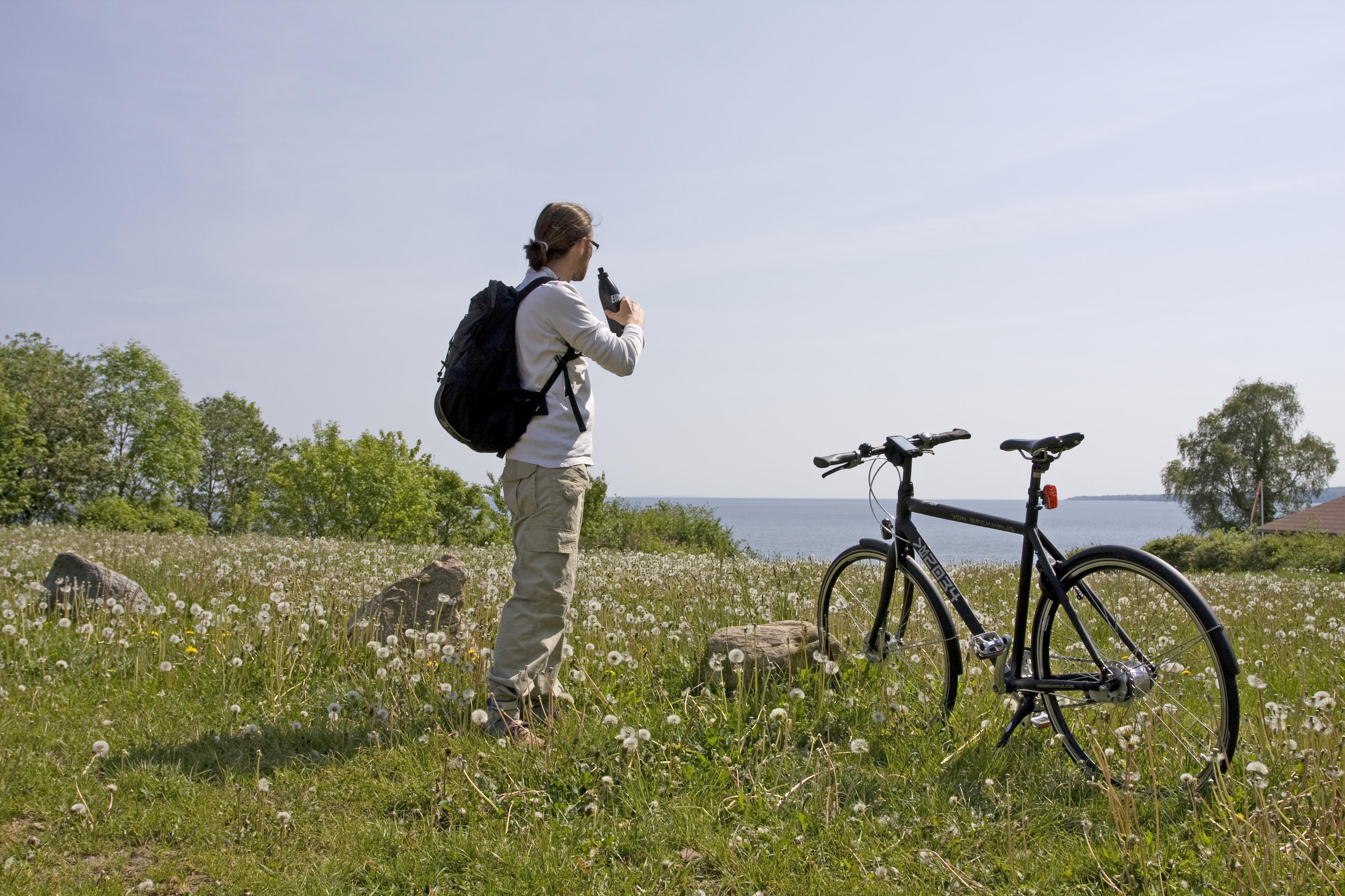 In bicicletta lungo il Vejle fjord-Danimarca