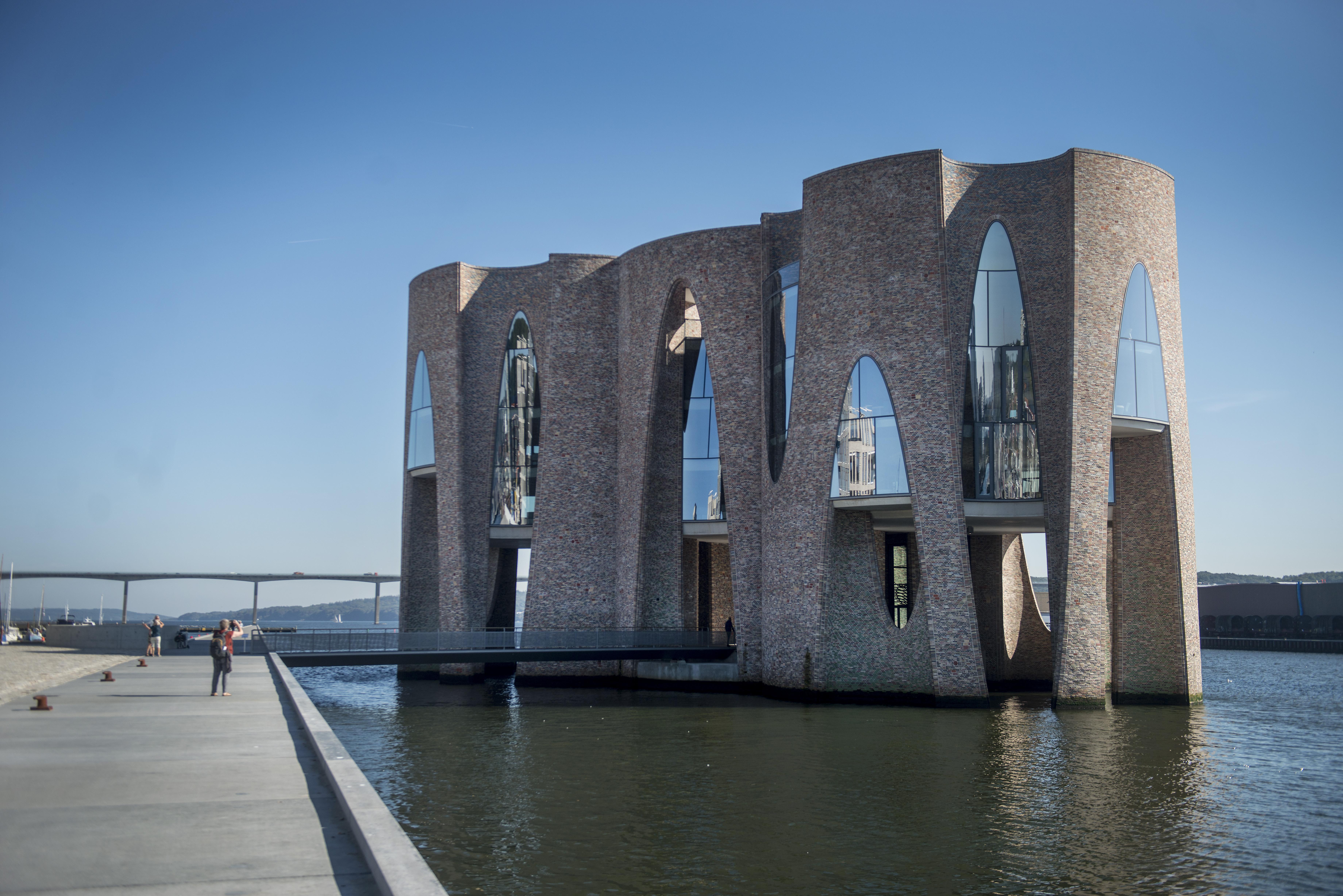 Edificio Fjordenhus-Vejle-Danimarca