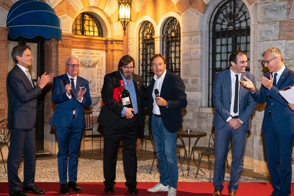 """Castello di Spessa-Premio """"Casanova"""" all'attore Giuseppe Battiston-Capriva del Friuli-Gorizia"""