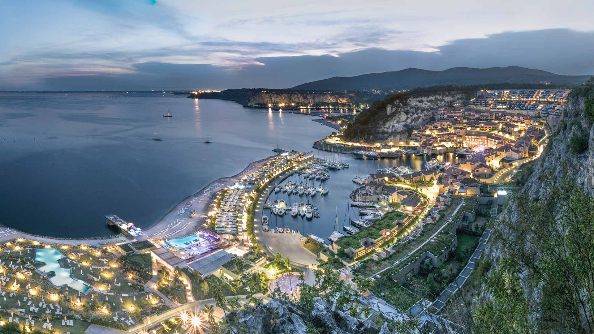 Tramonto-Portopiccolo-Trieste