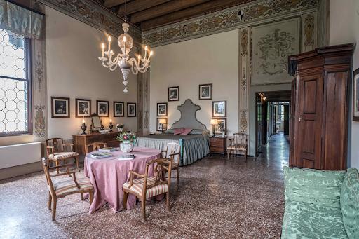 Stanza per ospiti al Castello di Thiene-Vicenza
