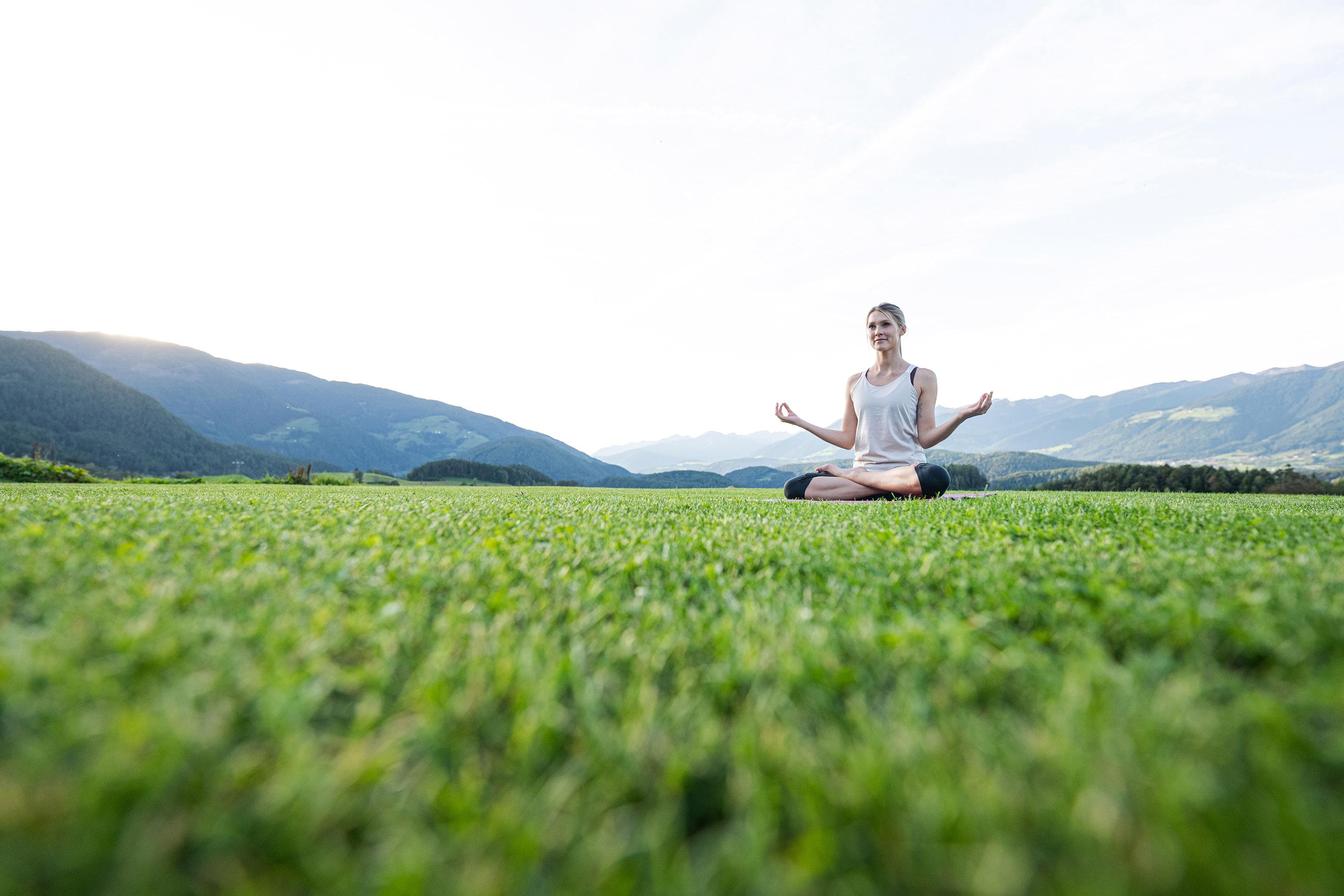 Yoga e meditazione in vacanza - Hotel Winkler - Foto Harald Wisthaler