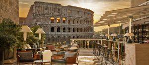 Courtlounge con vista su Colosseo-Roma