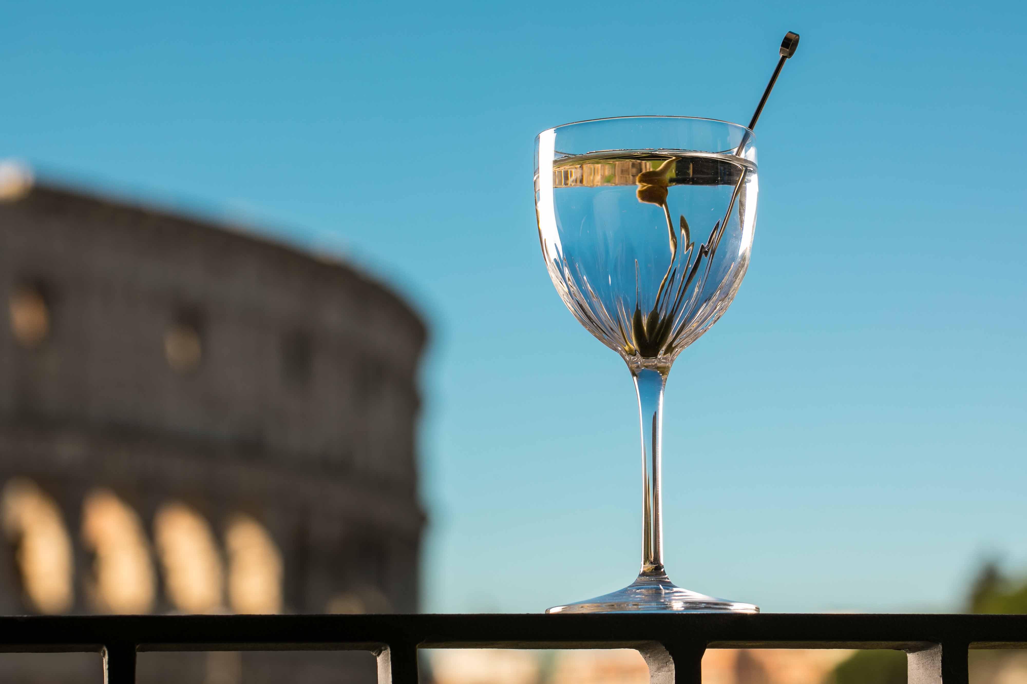 The Court Lounge-Aperitivo all'ombra del Colosseo- Roma-Foto di Alberto Blasetti-Aperitivi romani