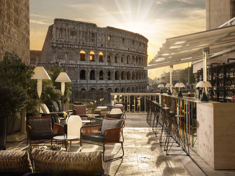 Court Lounge con vista sul Colosseo-Roma-Aperitivi romani