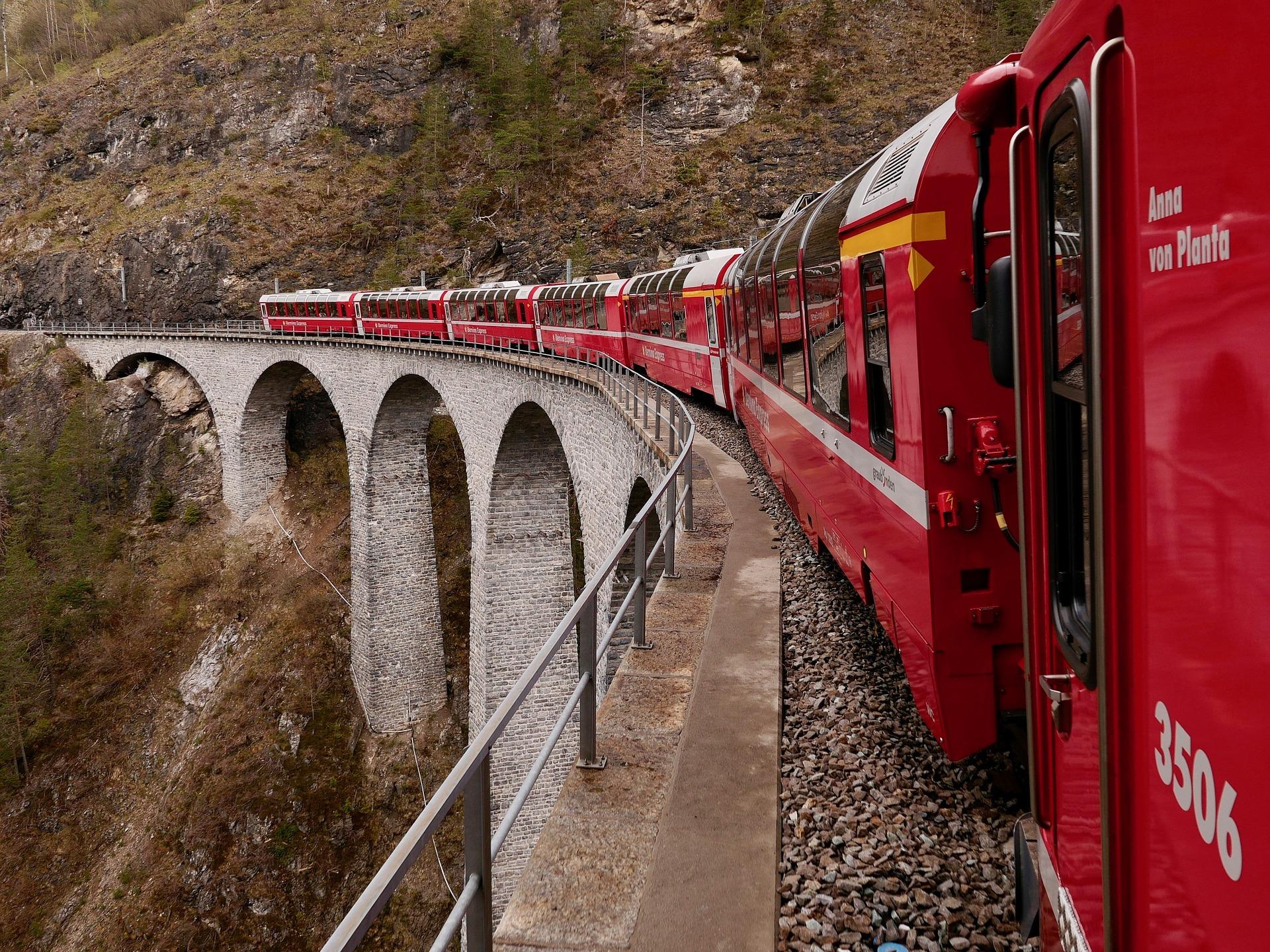 Glacier Bernina Express-Svizzera