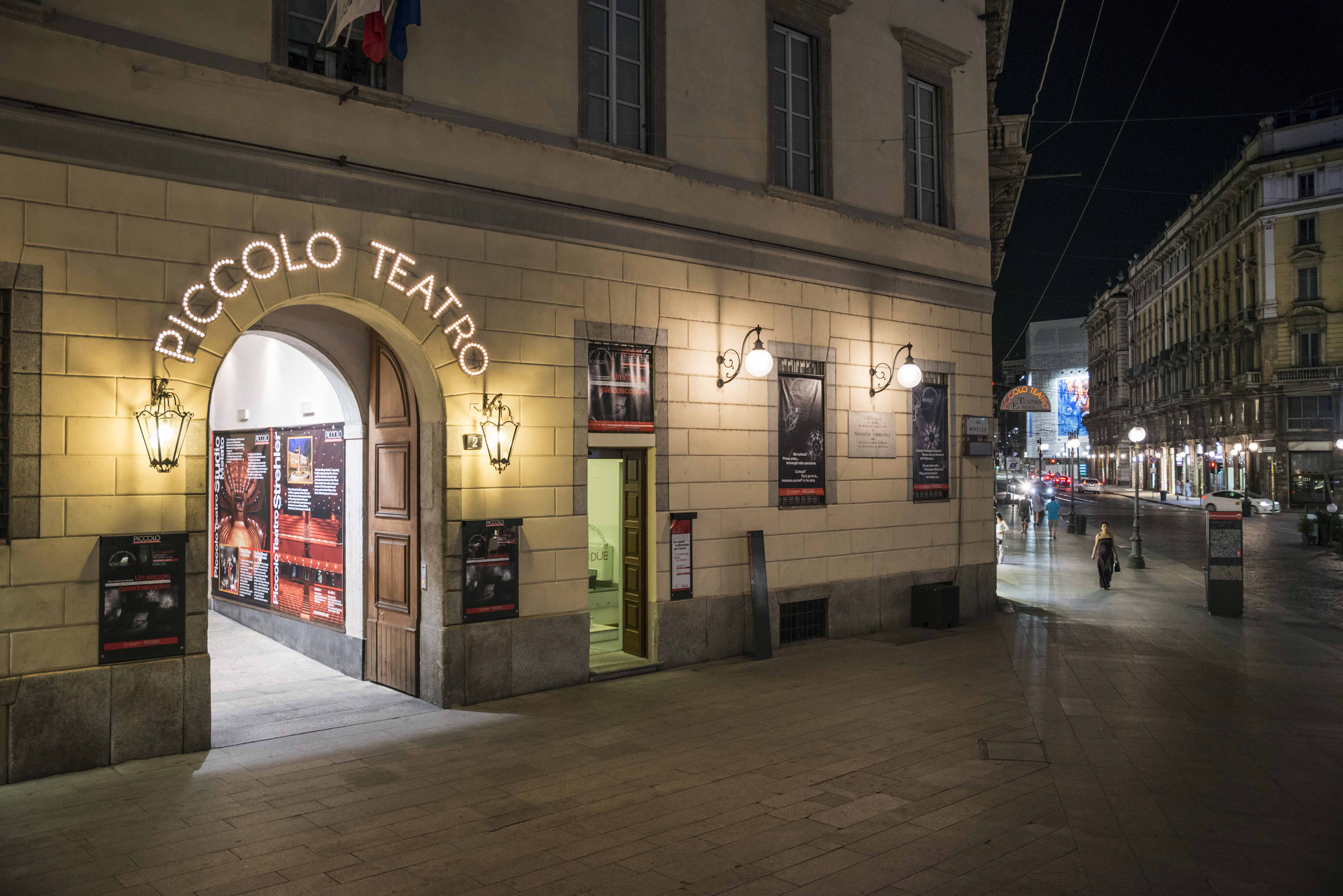 Piccolo Teatro- Foto Masiar Pasquali - Milano riparte dalla cultura