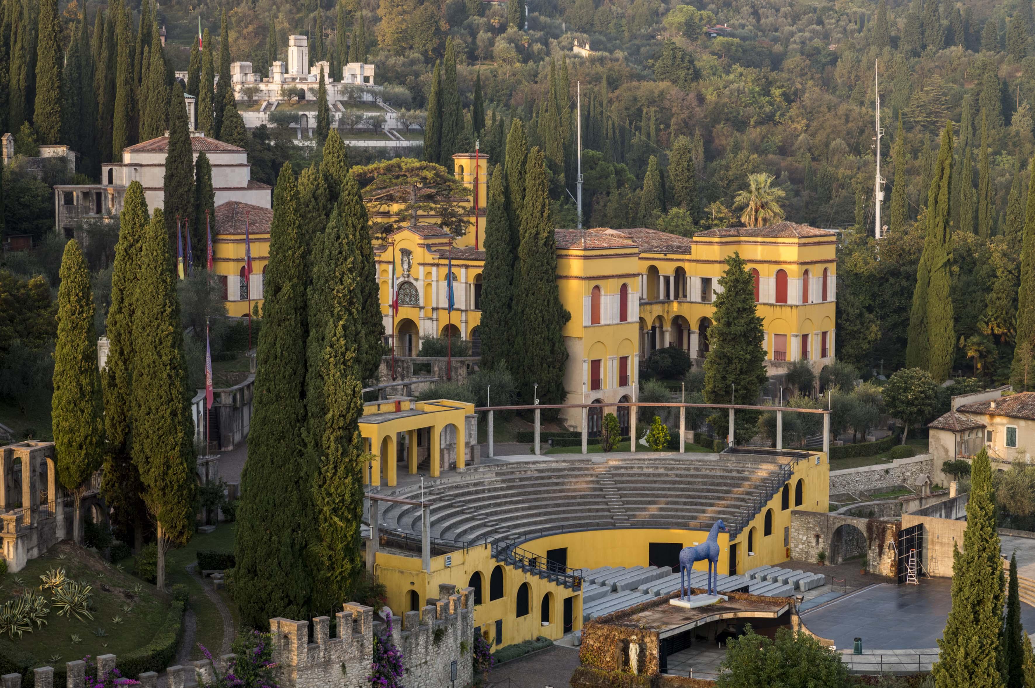 Vittoriale degli Italiani-Gardone Riviera